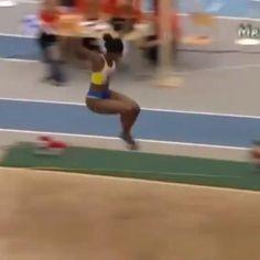 Long Jump, High Jump, Flexibility Test, Gym Facilities, Triple Jump, Power Tower, Gymnastics Videos, Simone Biles, Feel Good Videos