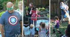 """This brave """"supervillain"""" became a living piñata. 