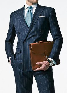 Double Breasted Suits Custome Made Fashion Tuxedos Stripe Foaml Business Office Terno Slim Fit Hot Sale Business Party Tuxedos Mens Casual Suits, Stylish Suit, Tailored Suits, Suit Men, Dress Suits, Men Dress, Terno Slim Fit, Discount Suits, Look Formal