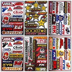 Graphic Racing Sticker Decal Motocross ATV Dirt 6 Sheets R601-1, http://www.amazon.com/dp/B00ESCV7IK/ref=cm_sw_r_pi_awdm_xigMtb10BGGDG