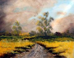 Vihar előtt. olaj, farost, 40x50