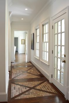 great floors for an entry hall or mudroom