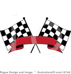 Auto Clip Free Racing on Royalty Free  Rf  Racing Flag Clipart Illustration By Rogue Design And