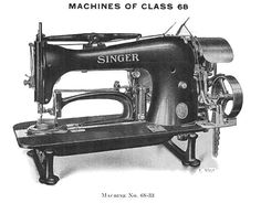 Singer 68-33 For making five-pointed stars in five operations for a crow's foot tack (three pointed star) in three operations, on naval clothing and other fabric. Forty-two stitches to each tack or point of star. The machine is fitted with a specially designed work holding clamp for manually moving the material in position for the succeeding points of the star.