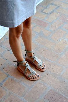 Valia Gabriel Sandy Cay Sandals in grey