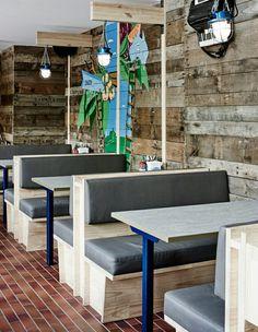 Les 120 meilleures images de Déco café et restaurant | Floor, Home ...
