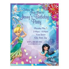 Tinkerbell invitation templates free download free tinkerbell tinker bell birthday invitation bookmarktalkfo Choice Image