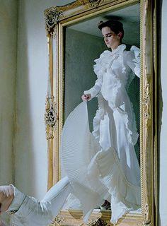 Emma Watson photographed for Vanity Fair.