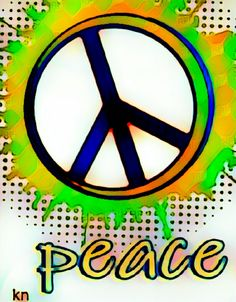 """""""Peace"""" Sign ✌ __[Peace sign Art by KN]"""