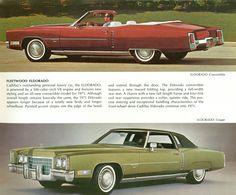 1971 Cadillac Eldorado Hardtop and Convertible