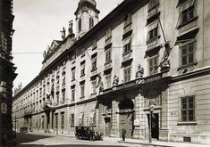 Utca, Budapest, Archive, Multi Story Building