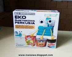 Ina i Sewa: Eko śmietnikowa perkusja i miniProgramowanie. Baked Beans, Diy Crafts For Kids, Raisin, Blueberry, Science, Baking, Toys, Activity Toys, Berry