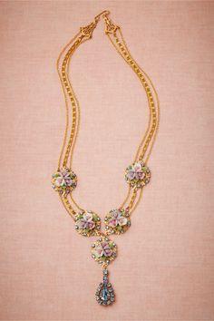 Cottage Garden Necklace from BHLDN