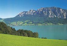 Attersee in Upper Austria © Österreich Werbung/ Weinhaeupl