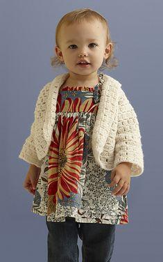 Flutter Baby Top: free crochet Pattern