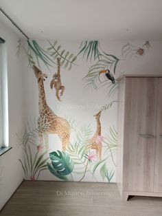 Jungle Theme Nursery, Safari Room, Jungle Bedroom, Kids Bedroom, Baby Bedroom, Baby Room Decor, Nursery Decor, Kids Room Paint, Bedroom Murals