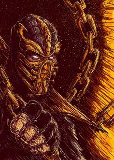 Mortal Kombat Fan Art by Bogdan Timchenko