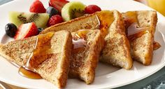 Quick and Easy French Toast (1 egg) ... perfect with a dash of nutmeg added!