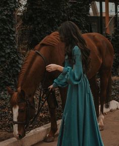 Girl and horse shared by Madinabonu on We Heart It