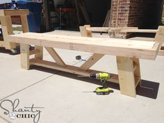 Hey there! Join us on Instagram and Pinterest to keep up with our most recent projects and sneak peeks! Hey there! As, promised, I am back with the matching benches to my Outdoor Dining Table! If you missed the free plans and the Outdoor Table tutorial, you can see it HERE! The benches are so …