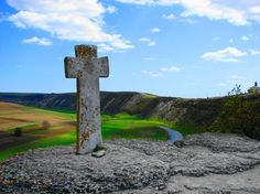 In Moldova, in the place called Orhei Vechi (Old Orhei) there is a stone cross… Our World, All Over The World, Moldova, Kazakhstan, The Republic, Eastern Europe, Romania, To Go, Track