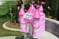 Castillo de princesa piñata por angelaspinatas en Etsy