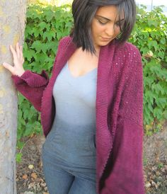 Ravelry: Bougainvillea Lace Shrug pattern by Grace Akhrem