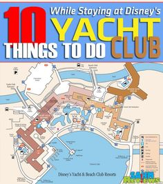 Headed to Disney's Yacht Club for a vacation? Don't miss out on these must-do things at your hotel!