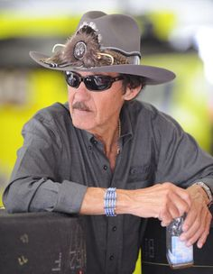 Richard Petty - My other favorite driver but he's retired.  He really does look like this in person!  What you see is what you get!
