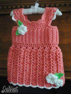 Ooh La La Toddler Tank Top Free Crochet Pattern