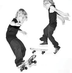 Channing wants Jessiah to be a skater when he gets older. :)