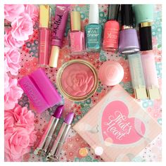 Happy First Day of Spring!!  Time to dig out the Spring Makeup!!  #spring