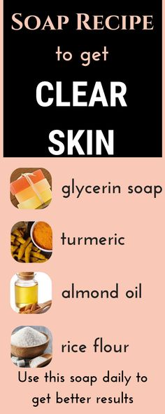 Magical homemade skin whitening soap recipe to remove dark spots, suntan, acne and pimples naturally - healthy skin care Skin Whitening Soap, Natural Skin Whitening, Natural Skin Care, Natural Beauty, Natural Hair, Skin Care Regimen, Skin Care Tips, Skin Tips, Anti Aging