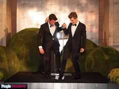 "Inside Nate Berkus & Jeremiah Brent's Dream Wedding | COMIC RELIEF | The couple was more than ready to break a glass after saying their vows (a nod to Berkus's Jewish heritage), but they had some unexpected help from Salata. ""[She] accidentally knocked our ceremonial glass off onto the floor and it broke,"" Berkus told PEOPLE. ""It was hilarious and something we'll be laughing about 20 years from now!"""