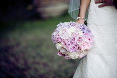 The Brides bouquet of pink white and purple flowers. Groomswear by Louis Copeland & Sons. Photography by: Ros from Couple Photography. Wedding Blog, Wedding Photos, Bride Bouquets, Real Weddings, Destination Weddings, Wedding Couples, Couple Photography, Purple Flowers, Wedding Flowers