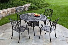 Metal Outdoor Furniture - Mariposa Dining Group