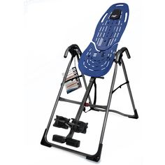 Tackle your back pain with this customizable Teeter hang-up inversion table. The table allows you to invert your body for a complete, natural stretch. The included pillow, security locks, and adjustable supports create a safe, comfortable experience.