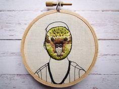 New Zealand Native Bird 'Kakapo Man' Mask 3 by CheeseBeforeBedtime