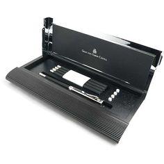 ファーバーカステル 鉛筆 パーフェクトペンシル 118518 デスクセットNo.1 ブラック