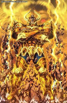 Saint Seiya - Gold Saints - by diabolumberto on DeviantArt Dbz, Goku, Anime Saint, Adashino Benio, Manga Anime, Knights Of The Zodiac, Comic Games, Fan Art, Anime Fantasy