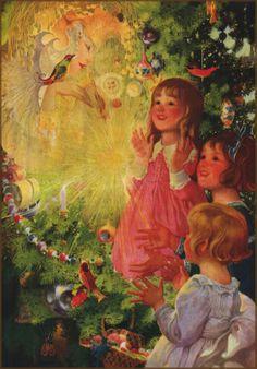 Sarah Stillwell Weber — The Fairy of the Christmas Tree — 1918