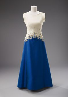 The State Rooms, Buckingham Palace - Evening dress worn for a state dinner, Rideau Hall, Ottawa, 30th June 1967.