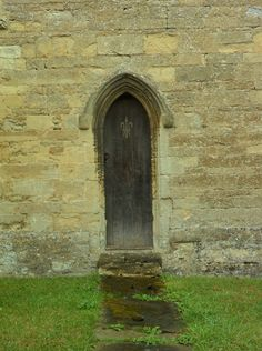 Narrow medieval doorway, St Marys parish Church, Charlton on Otmoor, Oxford, England All Original Photography by http://vwcampervan-aldridge.tumblr.com