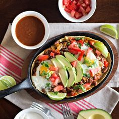Delicious, hearty breakfast - Huevos Rancheros. So easy to make!