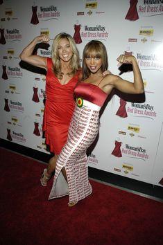 Toni Braxton and Denise Austin
