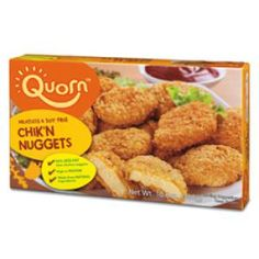 """Expert picks: The 7 tastiest vegetarian """"meats"""": Quorn brand Chicken nuggets (or any of their products, really)"""