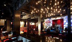 cafe interior photos | Hard Rock Cafe: Design Summary.