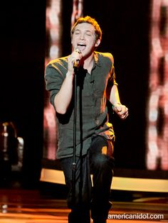 """Phillip Phillips performs """"Hard To Handle"""" by the Black Crowes at the Top 11 performance show."""