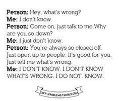 I HAVE THIS CONVERSATION WITH MY DAD AND SISTER AAALLLLL THE TIME