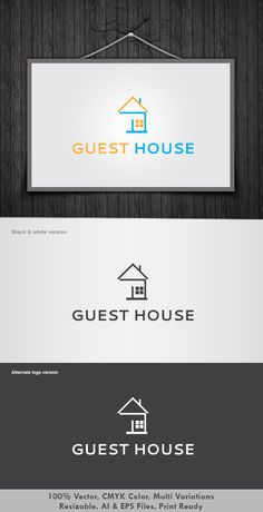 Going in a travel, need a guest house… http://graphicriver.net/item/guest-house-logo/2639528?ref=dotnpix